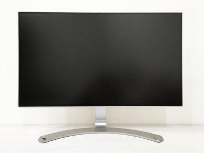 [二手電腦螢幕] LG 樂金 24 吋 24MP88HV 無邊框 IPS 液晶彩色顯示器 (附原廠外盒與線材)