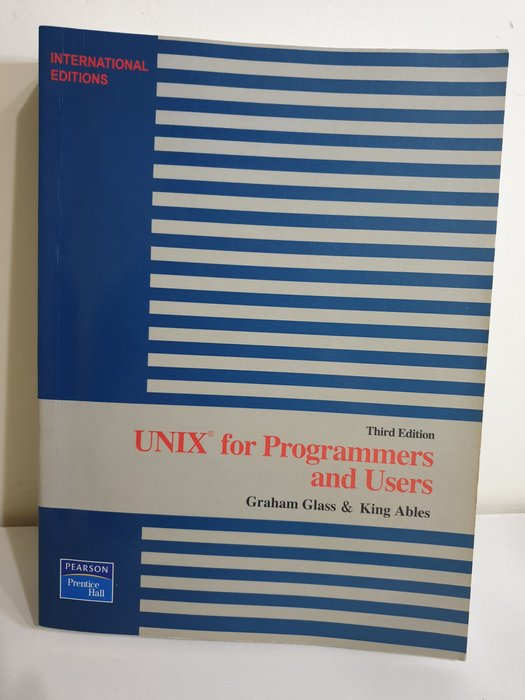 Unix for programmers and users Unix作業系統 資訊管理 大學 英文原文書