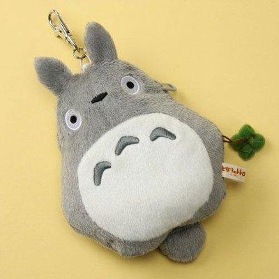 尼德斯Nydus 日本正版 吉卜力 宮崎駿 龍貓 TOTORO 造型零錢包 票卡夾 證件夾 約18cm 預購