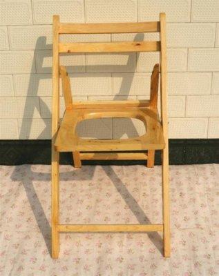 特惠❧坐便器 防滑加固老人坐便器柏木坐便椅實木可折疊廁所凳馬桶凳孕婦坐廁椅 米米旗艦店