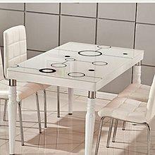 餐椅 餐桌 可桌椅組合 鋼琴面 鋼化玻璃 私樓 租房 劏房 豪宅 200117tr21