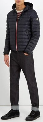MONCLER  Morvan quilted-down hooded jacket