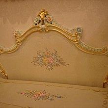 ☆古典歐式巴洛克☆法式維多利亞系列家具進口手工雕刻雙人床組.單人床.床頭櫃傢俱