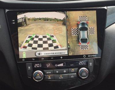 360度無縫環景 360度 環景系統 4鏡頭 行車記錄器 4像頭 360度環景影像輔助 自動切換左右及倒車影像
