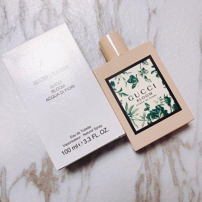 $550 Gucci bloom acqua di fiori edt tester 版 100ml 女士花香香水 全新正貨 (陳列品紙盒)Carol shop