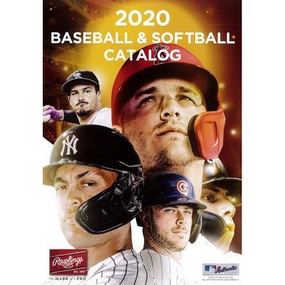 貳拾肆棒球歷史館-2020 Rawlings日本帶回。大本店家用棒球全目錄A4版