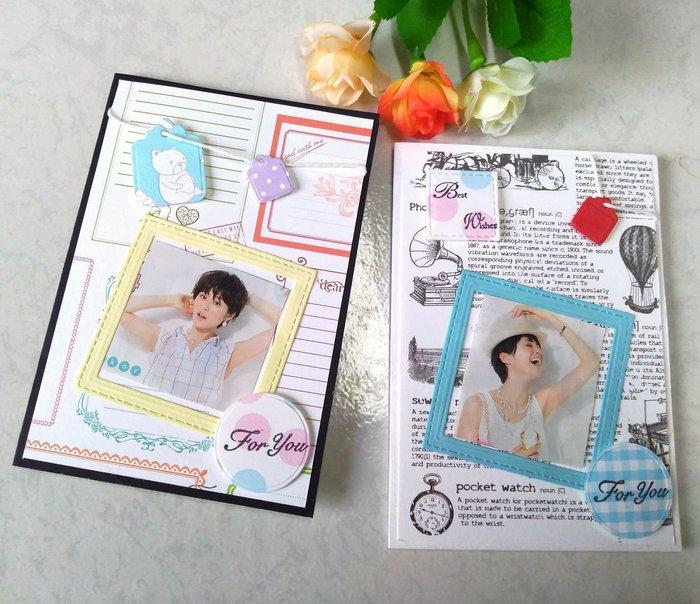 一番街手作設計家☆手工卡片萬用卡,a1a2下標區→內附大小標籤+2個瀑布卡可貼8張照片