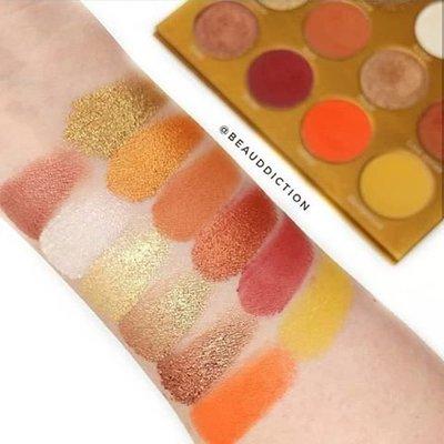 (現貨在台)特價出清OPV Beauty Oshun Palette 12色眼影盤 (NG款)