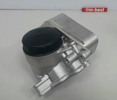 BMW E93 N20 N52 N52N N53 N54 N55 機油濾清器座總成 機油冷卻器總成11428637812