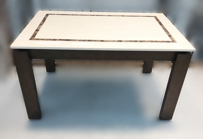 二手家具推薦【宏品二手家具】家電 E10411石面餐桌 *2手桌椅拍賣 會議桌椅 戶外休閒桌椅 課桌椅