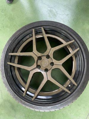 BC鋁圈、BC二片式鋁圈、鍛造鋁圈、二手鋁圈、中古鋁圈(BC-HC053鋁圈,20吋-5H112-9J-ET25)