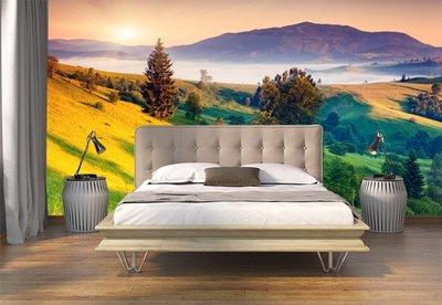 客製化壁貼 店面保障 編號F-463 高山美景 壁紙 牆貼 牆紙 壁畫 星瑞 shing ruei