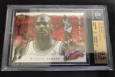🐐2007-08 Upper Deck NBA Heroes #MJ3 Michael Jordan
