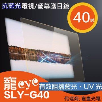 【寵eye】40吋 抗藍光液晶電視/螢幕護目鏡 (SLY-G40)