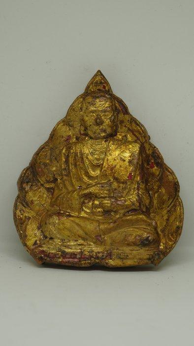 (希瓦利佛牌殿) 2401 阿贊多自身像 玉佛寺 阿贊多頌經加持 9.5x6.5x1.5cm