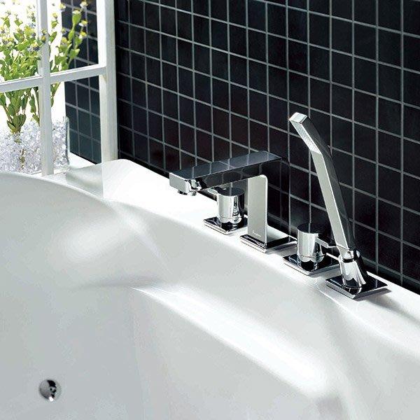 《101衛浴精品》BETTOR 諾亞系列 四件式 浴缸龍頭 FH 8112C-629 歐洲頂級陶瓷閥芯【免運費】