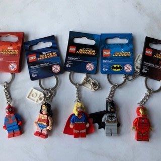 美國百分百【全新真品】LEGO 樂高 KEYCHAIN 鑰匙圈 玩偶 公仔 英雄 現貨 AD39