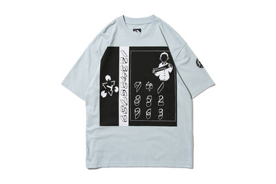 """[ LAB Taipei ] THE TRILOGY TAPES """" 123456789 T-SHIRT """""""