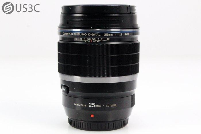 【US3C】Olympus M.Zuiko Digital ED 25mm F1.2 PRO 定焦鏡 大光圈 M43卡口