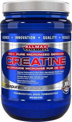宙斯健身網-Allmax Creatine 肌酸 400公克裝
