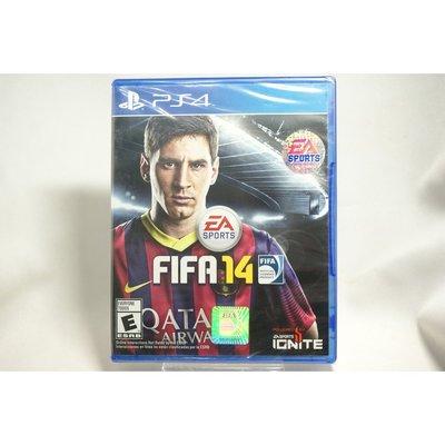 [耀西]全新 美版 SONY PS4 國際足盟大賽 FIFA 14 含稅附發票