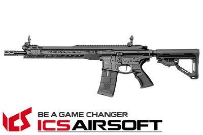 【翔準軍品AOG】ICS CXP-MARS Carbine MTR Stock(黑) EBB Keymod 全金屬 生