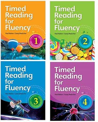 Timed Reading for Fluency1 2 3 4英語閱讀練習冊 贈Mp3 音檔和答案