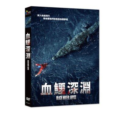 『DINO影音屋』20-10【全新正版-電影-血鱷深淵-DVD-全1集1片裝-潔西卡麥克納米、路克米歇爾】