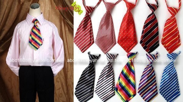 HONEY BABY 兒童西裝配件 領帶 領結 超潮領帶 22cm 29cm  35cm