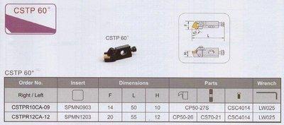 卡式刀座 CSTP 60D