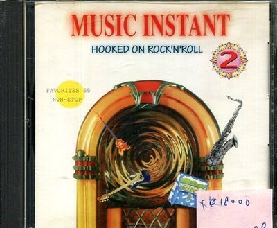 *真音樂* MUSIC INSTANT / HOOKED ON ROCK'N'ROLL 二手 K18000