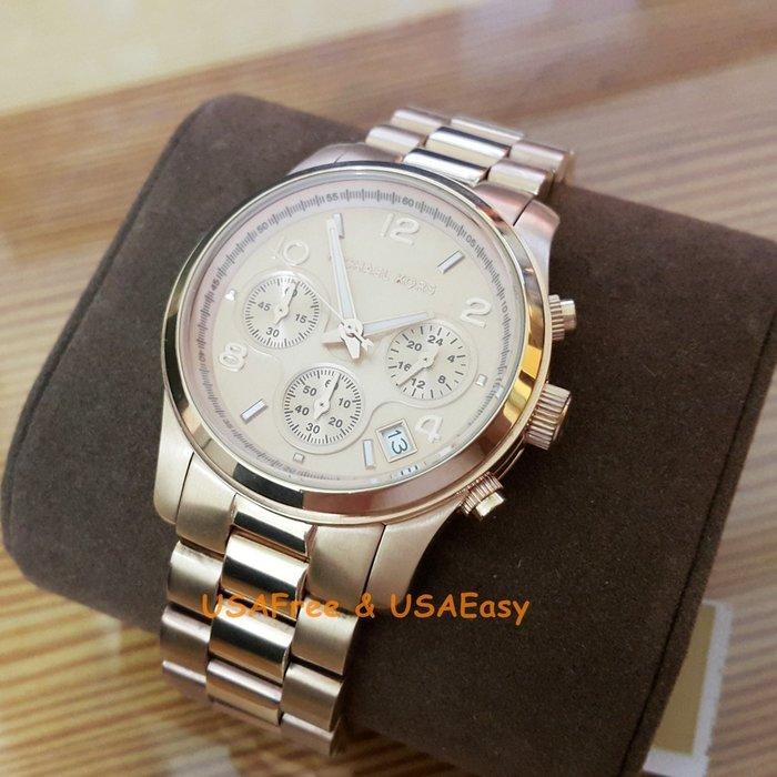 【USAFree】【Michael Kors】美國正品►代購 MK5128 簡約經典襯膚 MK 錶