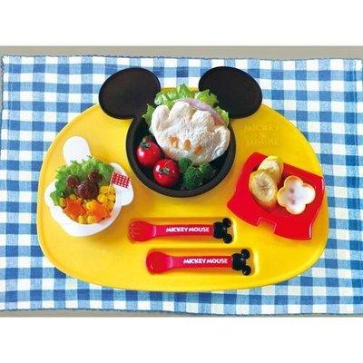~小容容~ 製 錦化成 迪士尼 米奇 食物餐盤連碗杯套裝 6件組 兒童餐具
