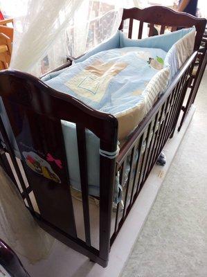 嬰兒床 中床【空床】 §小豆芽§ Mother's Love 甜蜜夢熊成長搖擺中床/嬰兒床【台灣製】