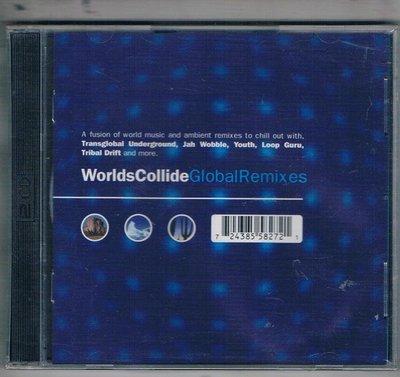 [鑫隆音樂]西洋CD-Worlds collide:Global remixes { 2CD }全新/免競標