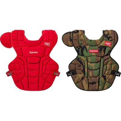 【美國鞋校】預購 Supreme SS20 Rawlings Catchers Chest Protector 拳擊