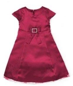 (((出清特價))) 全新 ~ GYMBOREE 水鑽蝴蝶結 酒紅色 緞面 紗裙禮服 (4yrs)