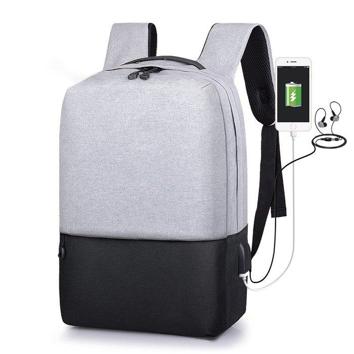 SX千貨鋪-新款雙肩包男包中學生書包男商務時尚電腦包休閑簡約男士旅行背包#男士背包#書包#單肩包#書包