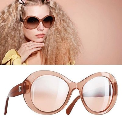 Chanel A71199 glasses 太陽眼鏡 eyewears 太陽眼鏡 玫瑰