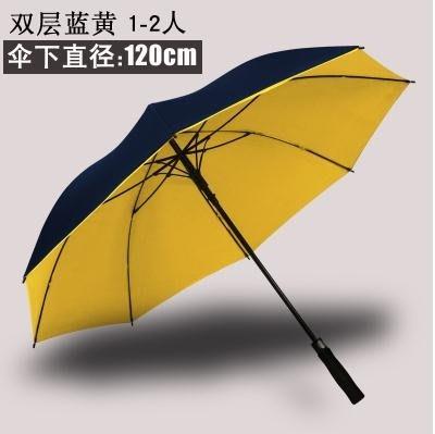 (全館免運)自動大號雨傘長柄男女三雙人...