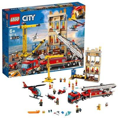 漫優精品~1月新品LEGO樂高積木男孩城市系列城市消防局消防救援隊運輸車