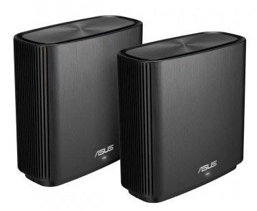 ASUS ZenWiFi AC (CT8)三頻網狀無線路由器 二入組 內建終生免費趨勢防毒 3年保固
