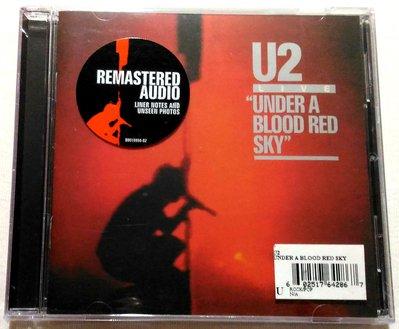 全新未拆  U2合唱團 / 血紅天空下現場演唱 Under A Blood Red Sky / 美版