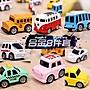 聚吉小屋 #兒童玩具車模型回力合金小汽車套...