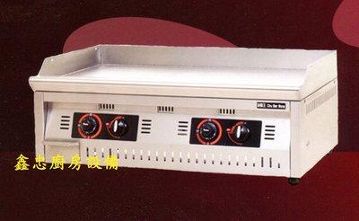 鑫忠廚房設備-餐飲設備:桌上型溫控美式煎板爐84*60 賣場有烤箱-冰箱-咖啡機-水槽-工作檯