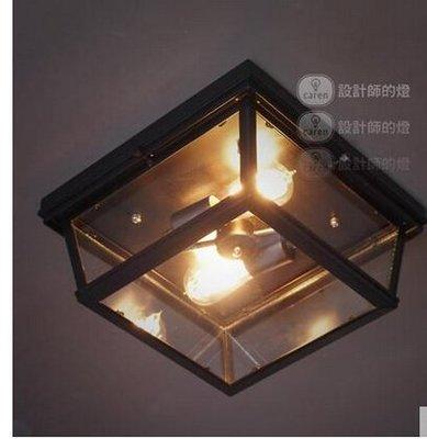 {美學}歐式客廳復古美式陽臺燈具過道臥室餐廳水晶斜塔吸頂燈MX-2155