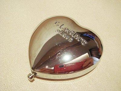 全新從未用過 泰奧菲 T. LeClere Paris 心型隨身鏡,低價起標無底價!免運費!