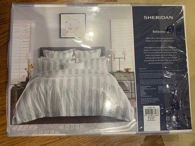 澳洲Sheridan Belleview 100% cotton quilt cover set(被套及枕套)