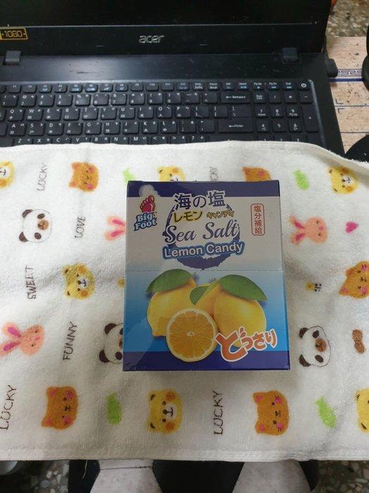 ~魔寶窩~超夯的Big Foot 海鹽檸檬糖,一盒12包