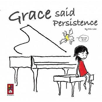 ☆天才老爸☆→【風車】Grace said Persistence(英文版)←兒童 外文 繪本